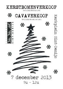 Kerstbomenverkoop 2013