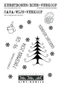 Kerstbomenverkoop 2014