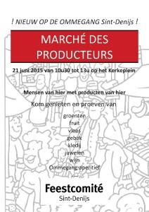 Flyers Marche des producteurs