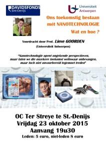 affiche en flyer nanotechnologie 2015